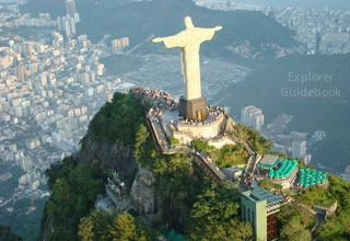 Patung kristus Rio de janeiro brazil
