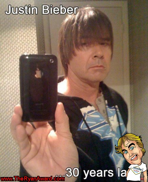 What Justin Bieber will look like in 30 years