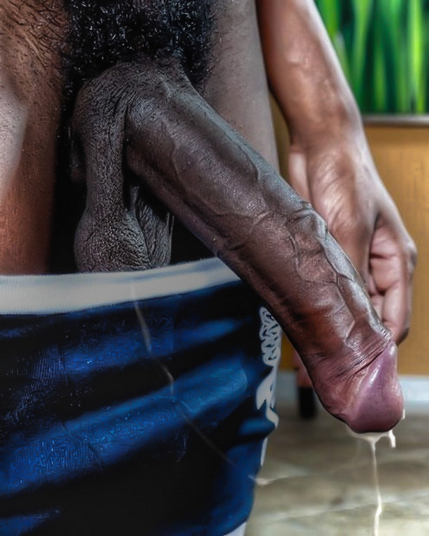 cock Juicy black