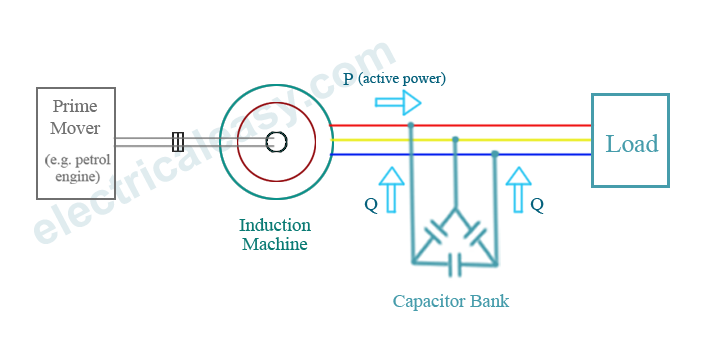 self excited induction generator