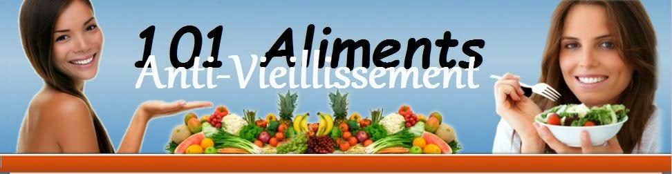 101 Aliments Anti Vieillissement
