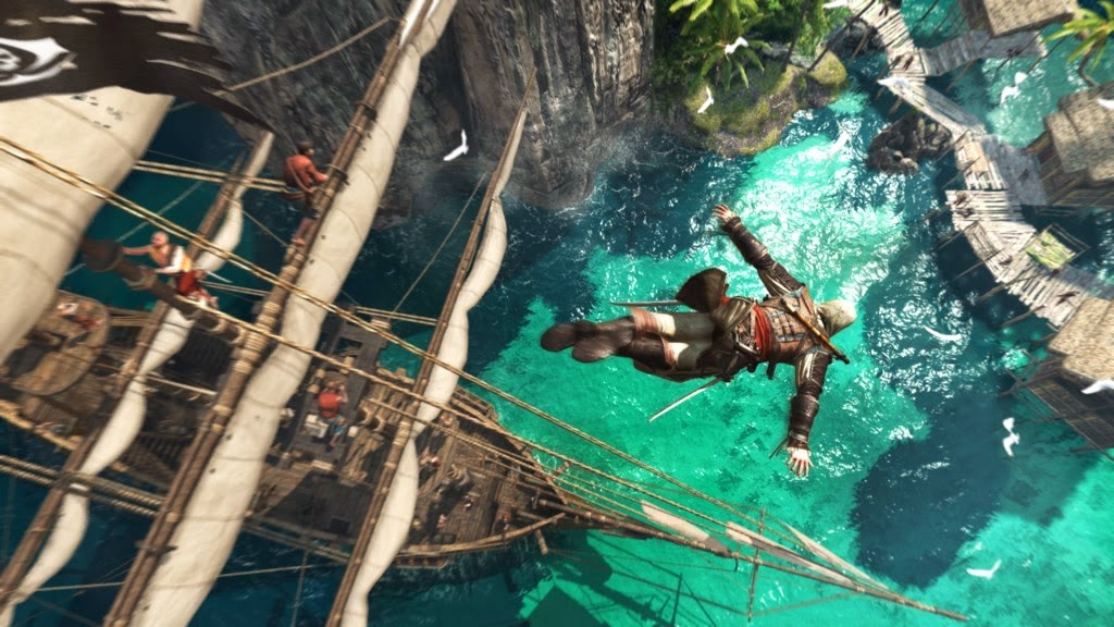 Assassin's Creed 4 (iv) Black Flag Free Download For PC