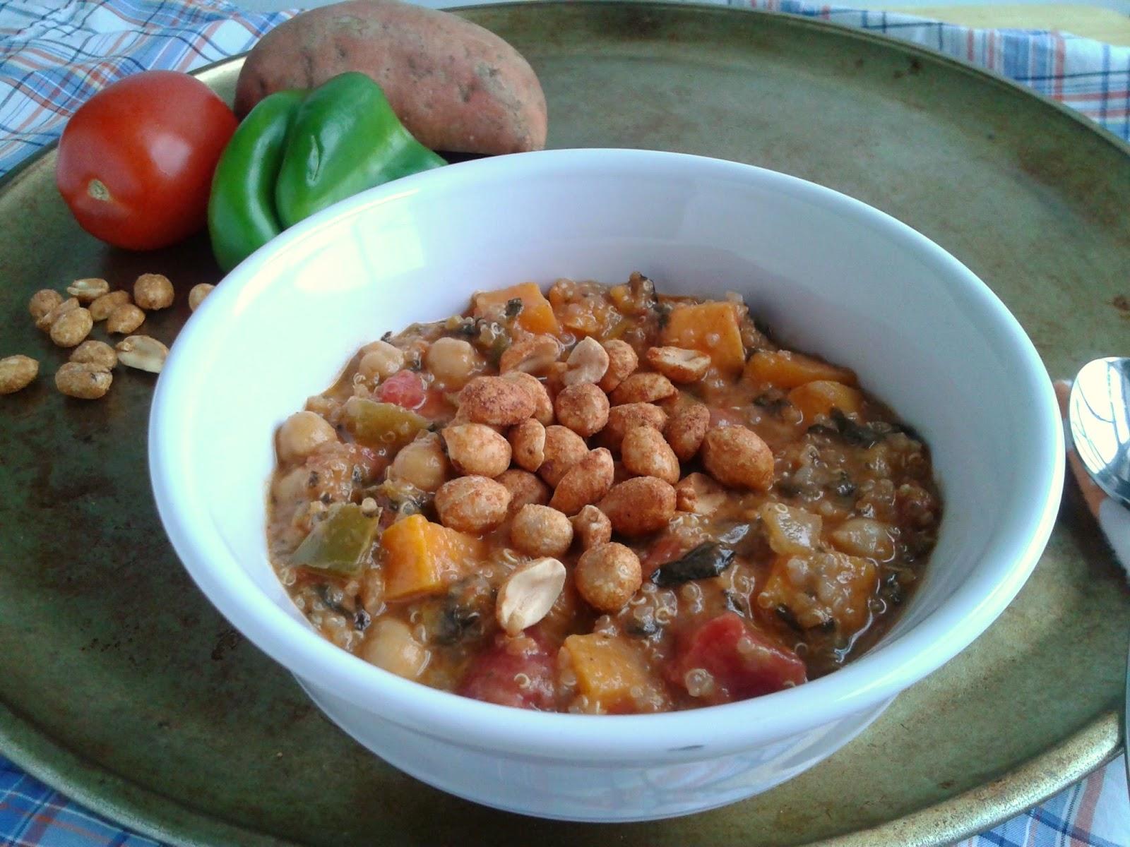 Soul-Soothing African Peanut Stew  l  Love.Bake.Read