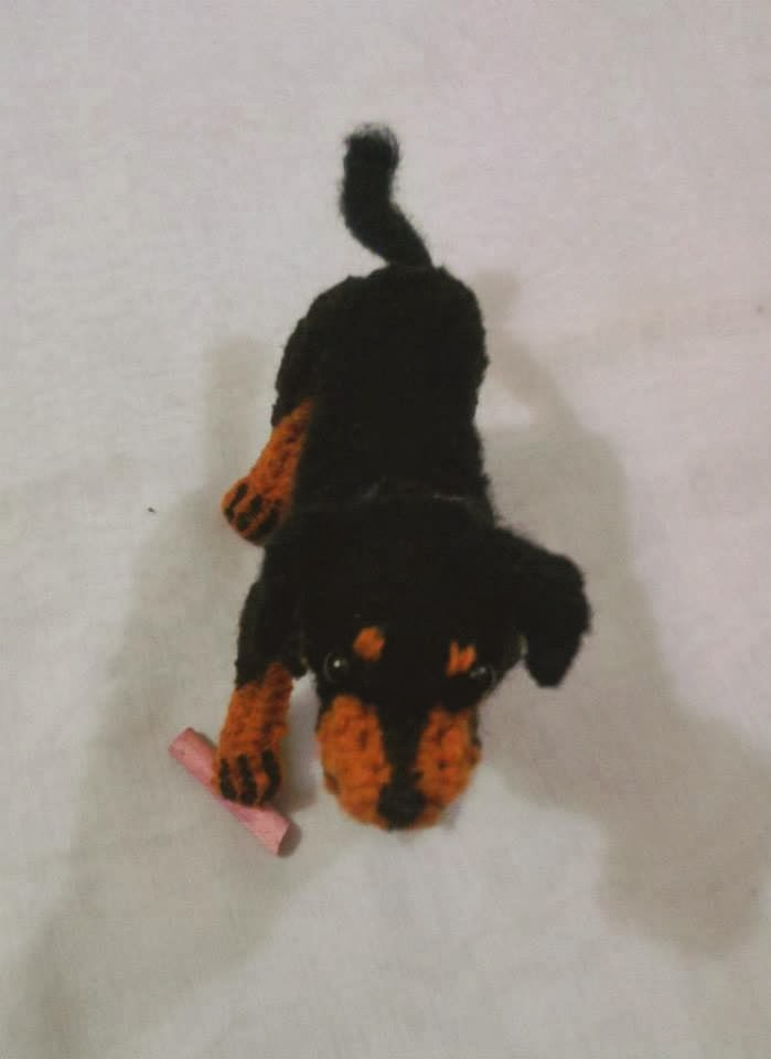 Amigurumi Dog Tail :