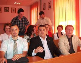 Aspecte din timpul cursului festiv, 24 iunie 2011...