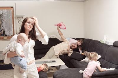 <Stressed Mom>