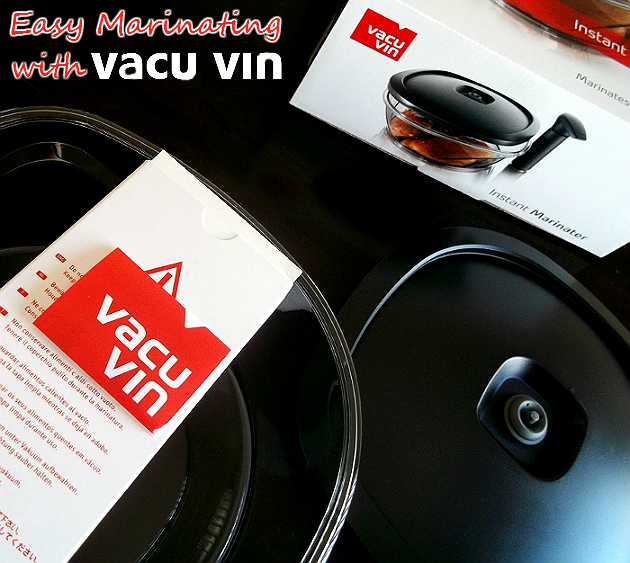 Easy Marinating with the Vacu Vin 2.5L Instant Marinator