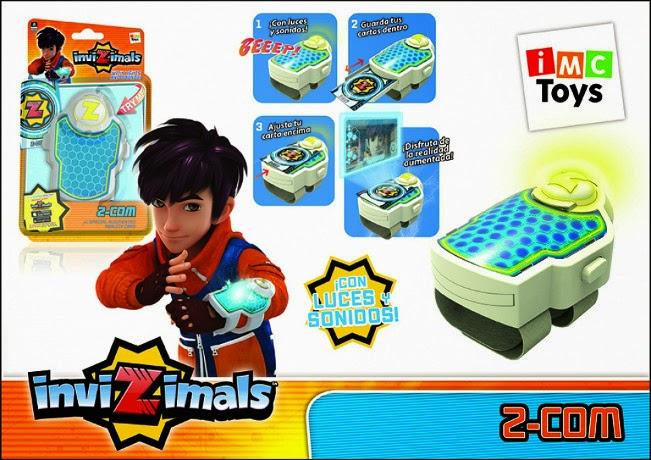 JUGUETES - INVIZIMALS - Brazalete Z-Com de la Alianza  Producto Oficial | IMC Toys 30060