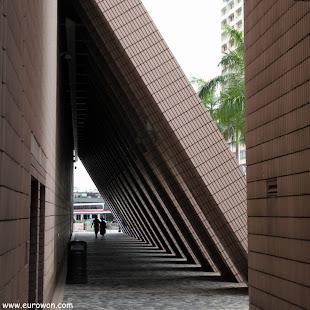 Arcos de la Casa de la Cultura de Hong Kong