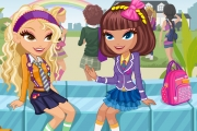 School Game : Cute School Girls