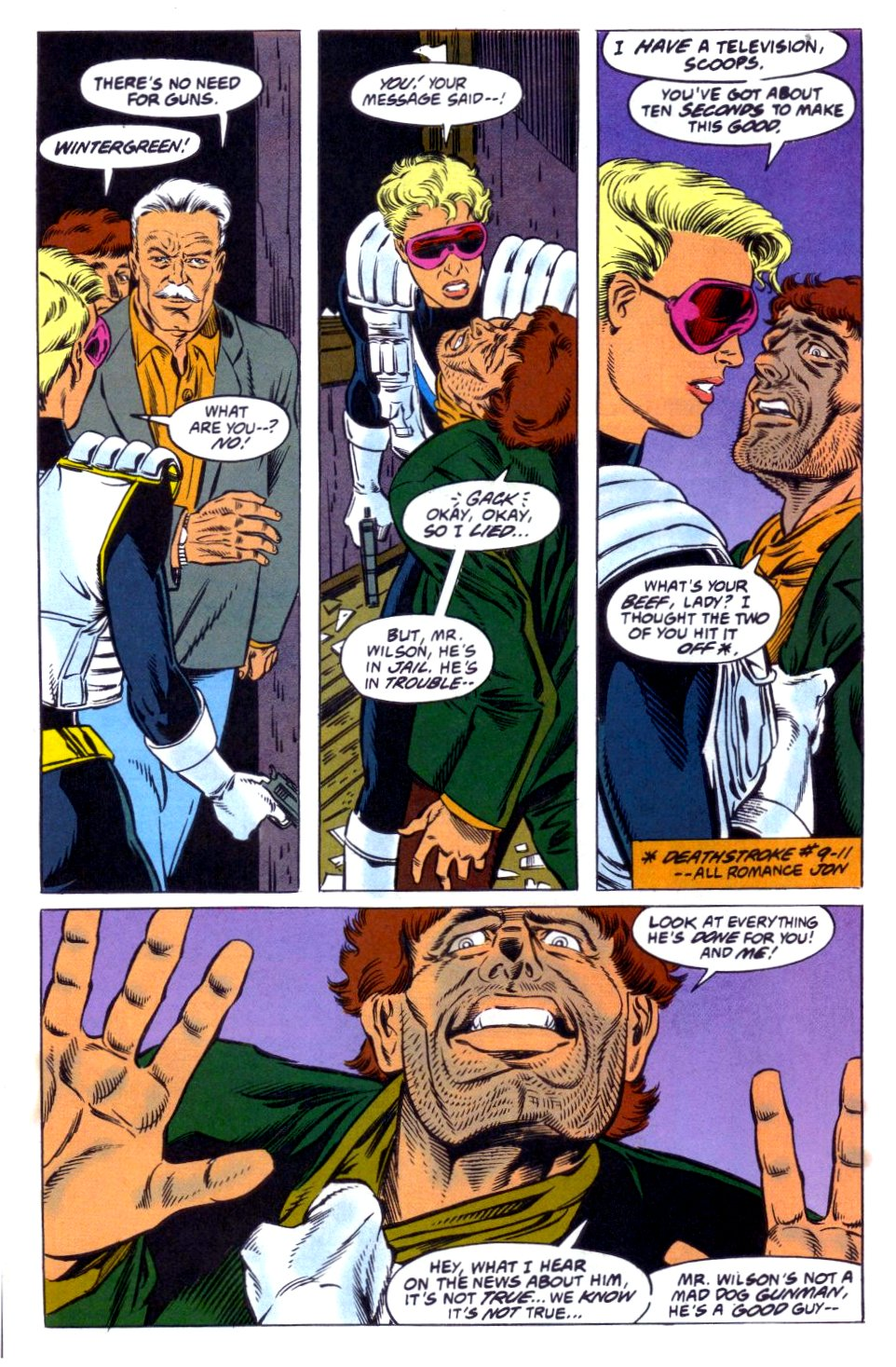 Deathstroke (1991) Issue #12 #17 - English 15