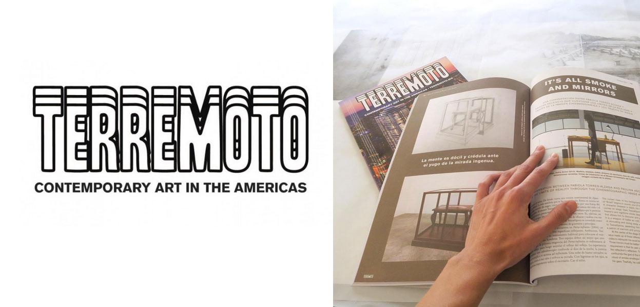 Terremoto Magazine - contemporary art in americas