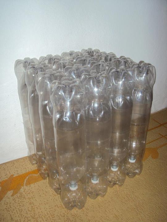 ideas para hacer muebles y cosas utiles para la casa a partir de botellas de plastico pet envases llantas y palets