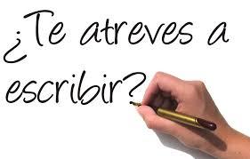¿Escribes?