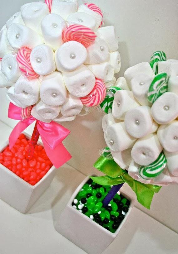 Candy Centerpieces, Custom Lollipop Decor, Rainbow, Candy Land ...