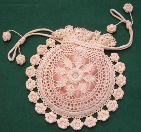 crochet bag, how to crochet