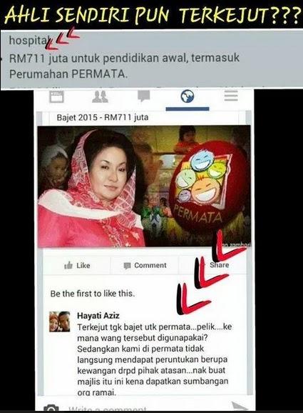 Budget Untuk Permata Naungan Rosmah RM711 Juta Kakitangan Permata Luahkan Rasa Kecewa