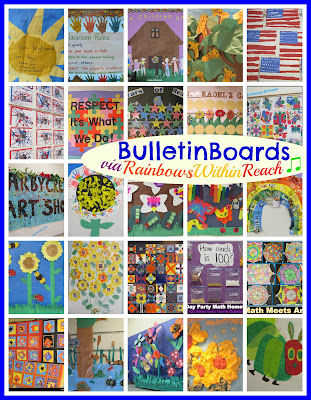 Photo of bulletin board round up via rainbowswithinreach all seasons