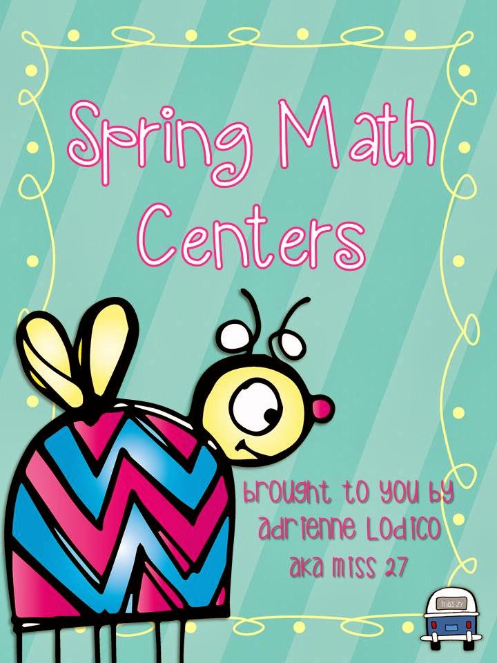 http://www.teacherspayteachers.com/Product/Spring-Math-Centers-7-independent-center-activites-1168736