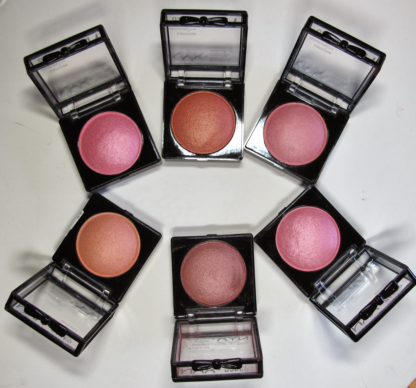 Baked Blush Nyx New Nyx Cosmetics Baked Blush