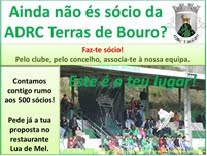 Divulgação: ADRC Terras de Bouro - campanha para angariação de novos sócios