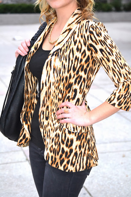 Black With a Splash of Leopard