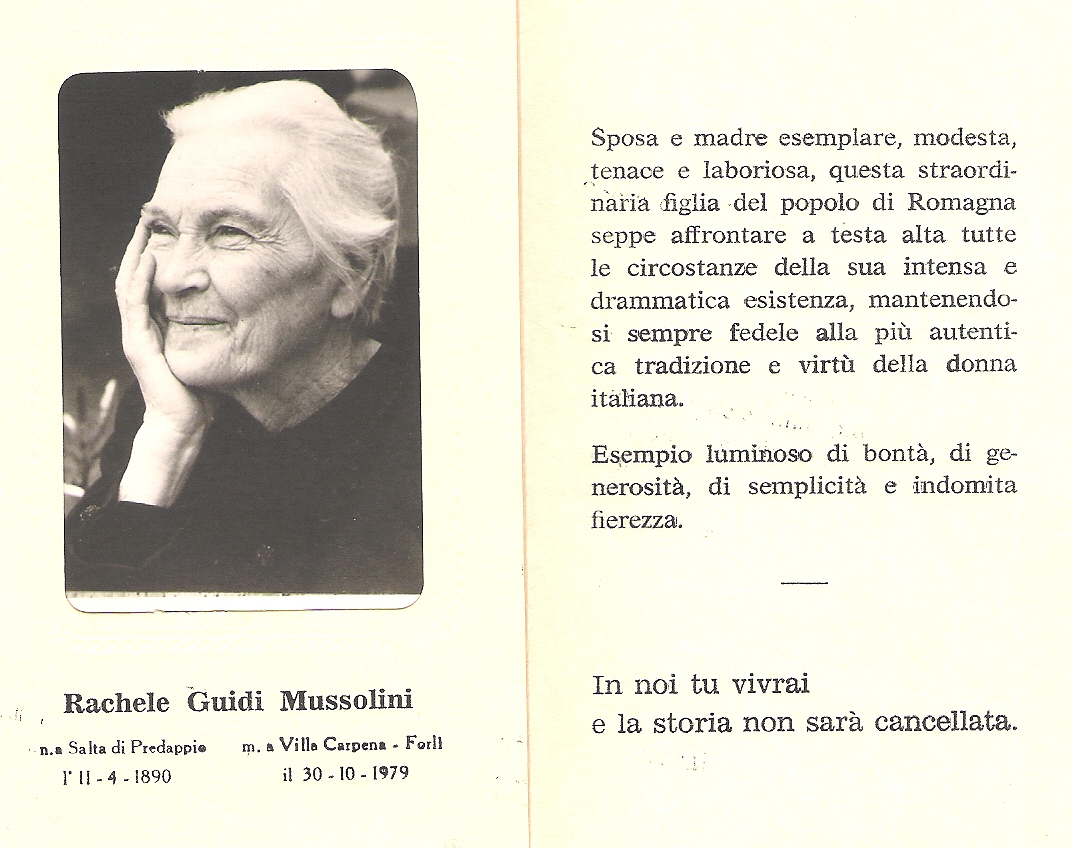 Matrimonio Romano Mussolini : Donna rachele mussolini