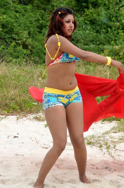 Komal Jha hot bikini stills