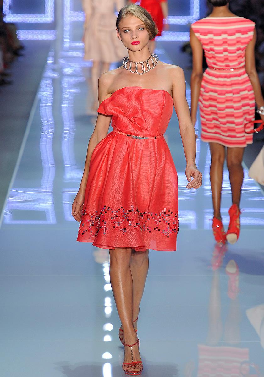 Коктейльные платья с показов
