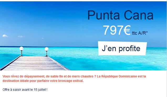 Air France Punta Cana