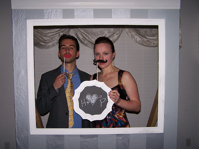 Our Wedding Day: DIY Photobooth