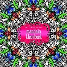 enige echte mandala kleurboek