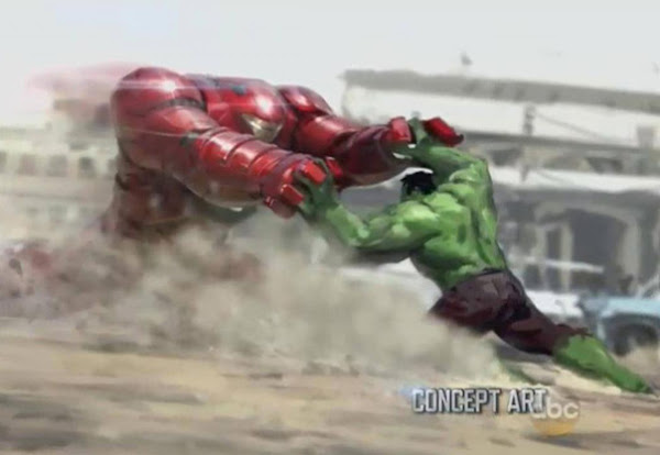 Hulk vs Hulkbuster from Avengers: Age of Ultron