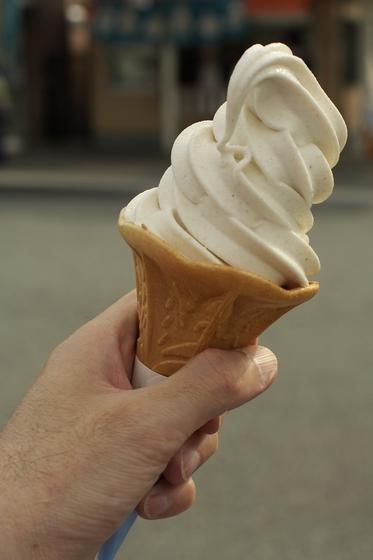 そばソフトクリーム