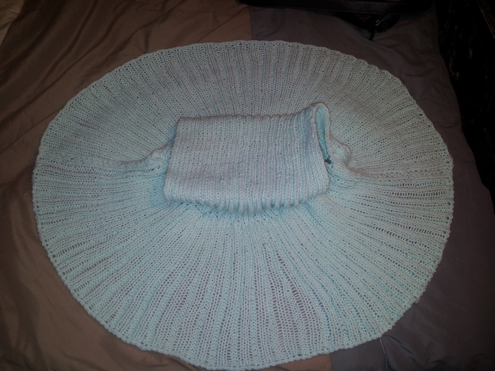 Knitting is a Romantic Drama: Circle Vest for Kat
