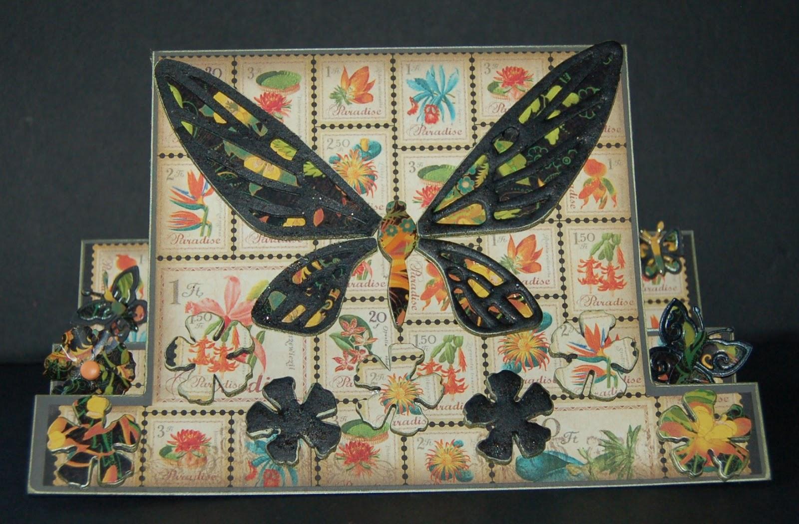 Izzwizz Creations Butterflies Flutter By