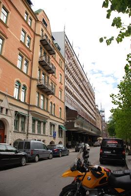 exterior view Folkets hus, Stockholm - Sven Markelius