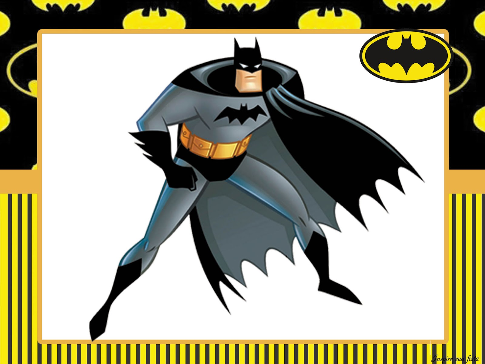 Batman Party: Free Printable Invitations and Free Party Printables ...