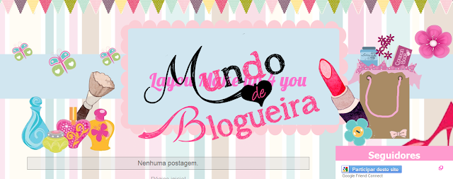 Layout make up 4 you -  Layout grátis para blog