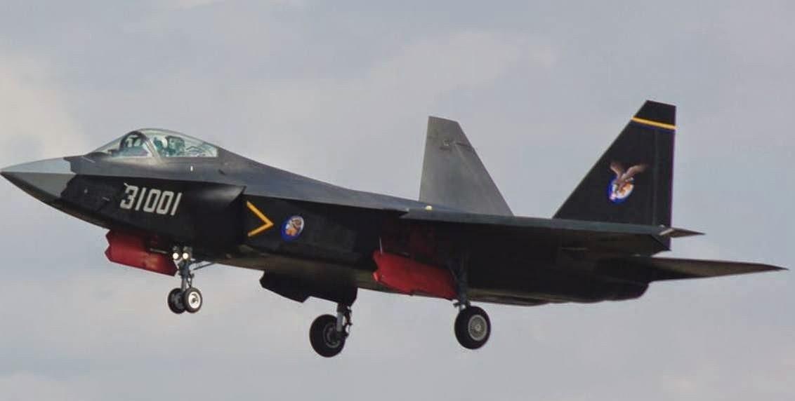 J 31 Shenyang J-31 F...