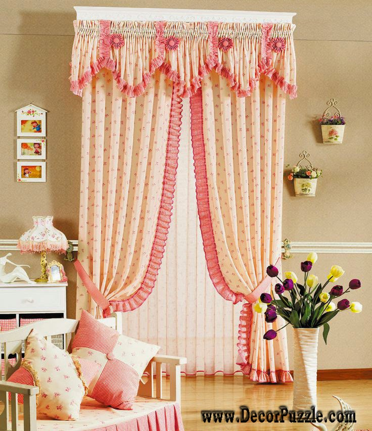 country french curtains and valances for girls bedroom 2015