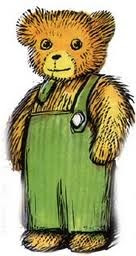 Neely 39 s news picture books from the past corduroy for Corduroy bear coloring page