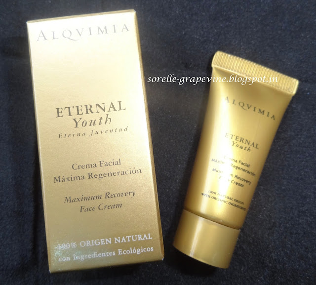 Alqvimia Eternal Youth Maximum Recovery Face Cream