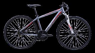 Pengertian Sepeda Hybrid - merek polygon