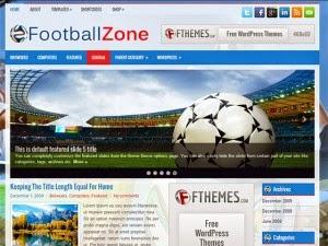 FootballZone - Free Wordpress Theme