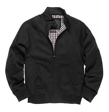 ben sherman classic harrington black jacket kedai barang barang rare. Black Bedroom Furniture Sets. Home Design Ideas
