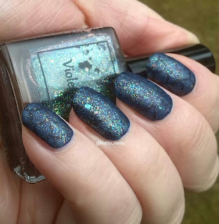 Violet Rose Thistle matte