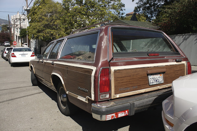 1988 Ford LTD Country Squire LX Wagon.