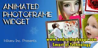 Animated Photo Frame Widget + v5.1.2 Apk