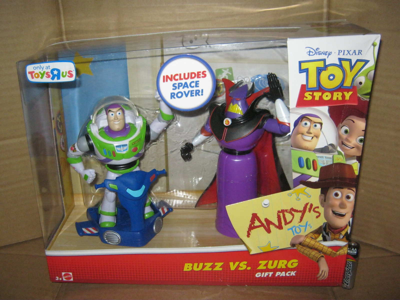 buzz lightyear vs zurg gift pack toy story action figure gembul toys